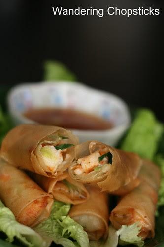 Cha Ram (Vietnamese Shrimp Egg Rolls) 1