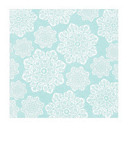 7x7 inch SQ JPG batik flower Snowflakes various sizes paper SMALL SCALE