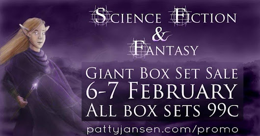 Science Fiction and Fantasy box set sale!