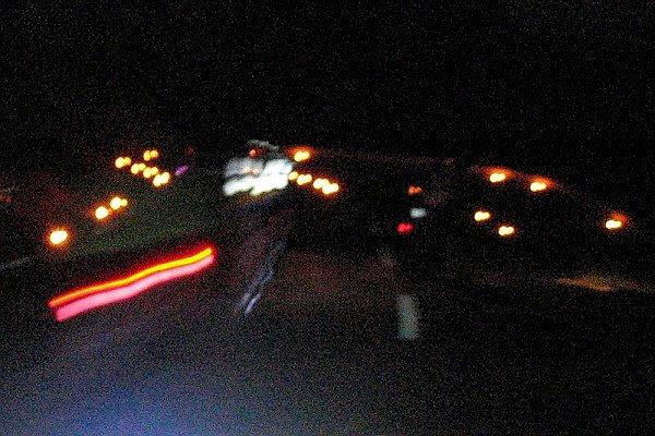 Lampions dans la montée du col de l'izoard