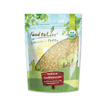 Organic Buckwheat Groats, 5 Pounds - by Food to Live