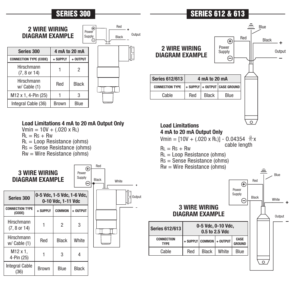 3 Wire Transmitter Wiring Diagram