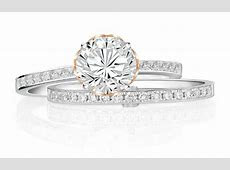 You'll love this lovely engagement ring set from Soo Kee Jewellery   Her World