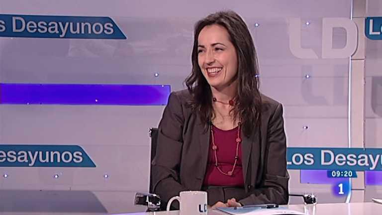 Los desayunos de TVE - María Seguí, directora general de Tráfico. Elena Valenciano, vicesecretaria general del PSOE
