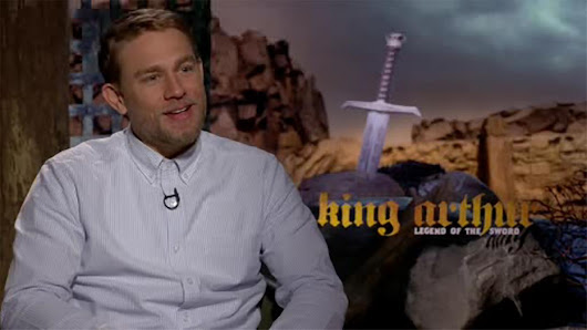 British star Charlie Hunnam hits big screen in 'King Arthur: Legend of the Sword'
