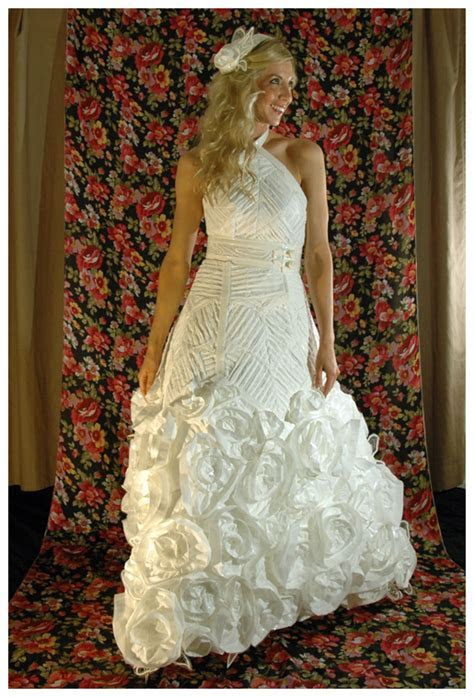Wedding Contest 2013   Toilet Paper Wedding Dress