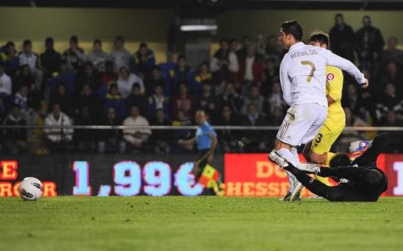 Cristiano Ronaldo, Villarreal, Real Madrid
