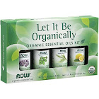 Now Foods Let It Be Organically Organic Essential Oils Kit