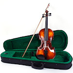 Ktaxon 3/4 Beginner Classic Solid Wood Violin Pack With Box And More