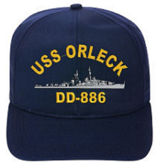 My hat story by Melvin Almond, USS ORLECK sailor. - Destroyer USS Orleck Association