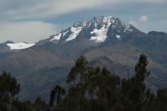 Sur la route dans le bus entre Ollantaytambo et Cusco