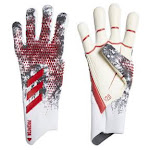 adidas Predator Pro Manuel Neuer Goalie Glove (White/Red/Black) 8 By SoccerEvolution