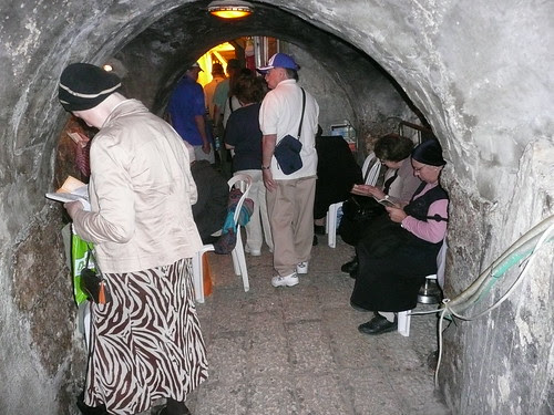 Western Wall's Tunnel & women's chapel