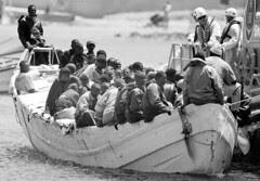 Inmigrantes en Canarias, by EFE (sen firmar)