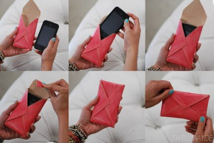 Savvy Housekeeping » Make A Leather Cell Phone Case