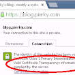 HTTPS + CT SCT TLS extension on my blog - Pierky's Blog