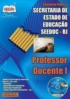 Apostila SEEDUC-RJ 2015 - Professor Magistério Docente I.