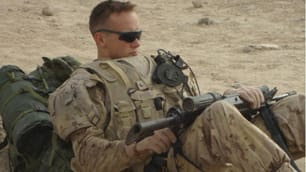 Brian Pinksen, 21, seen here in a photo from Facebook, died Monday in Germany. He was injured by a roadside bomb in Afghanistan on Aug. 22.