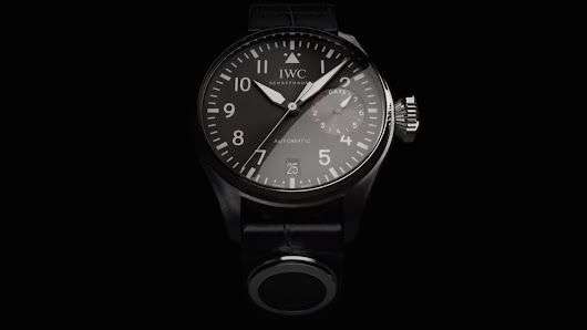 IWC Schaffhausen is putting a fitness tracker on the strap of your $15,000 watch
