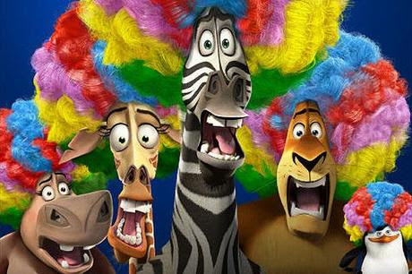 Madagascar 3 europe most wanted film animazione bambini