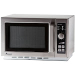 Amana RCS10DSE Commercial Microwave Oven - w/ Dial Timer - 120V, 1000W