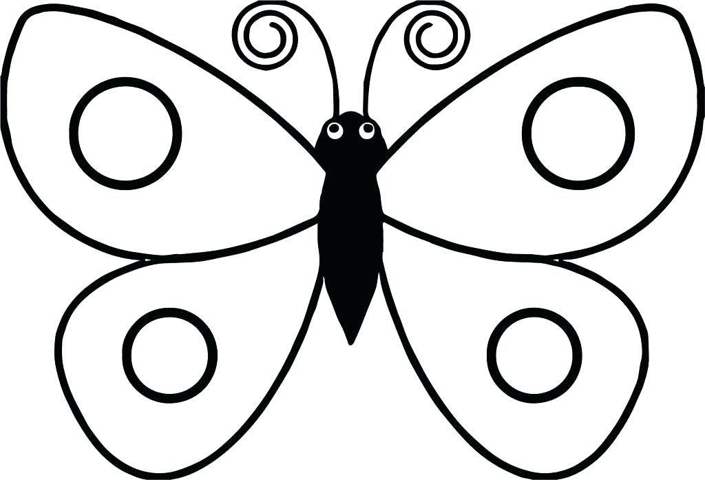 Butterfly Coloring Pages For Preschool at GetColorings.com ...