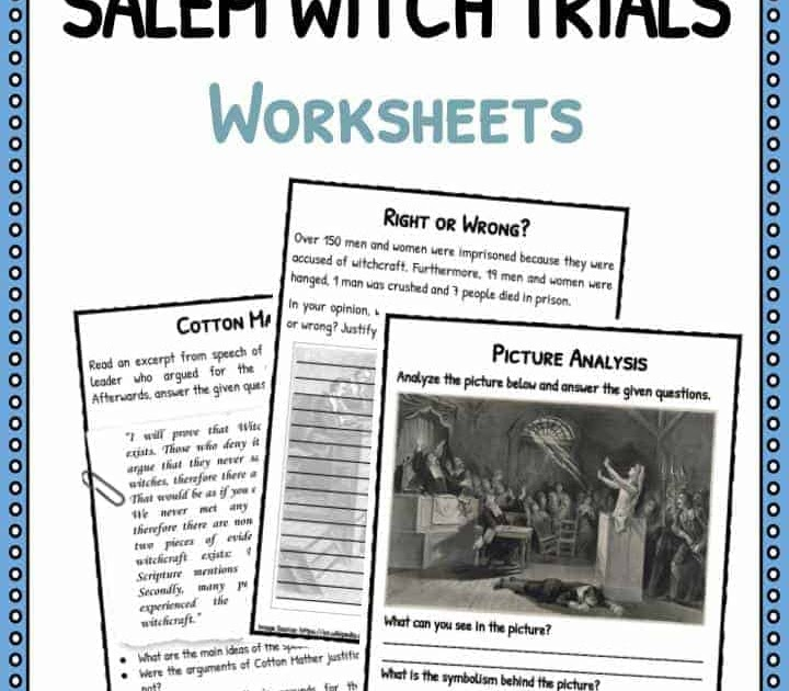 34 Documentary Salem Witch Trials Worksheet Answers ...