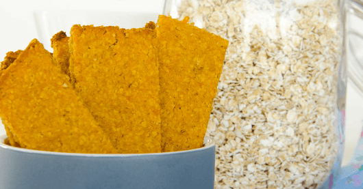Make your own healthy baby rusks