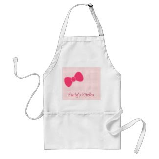 Sweetest Pink Bow apron