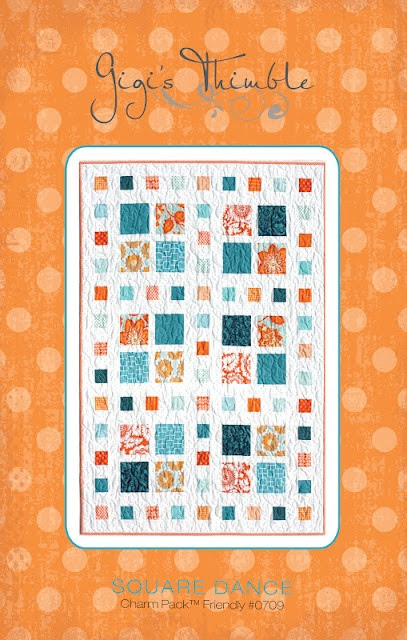 Square Dance Quilt - that's mine!