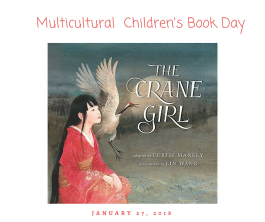 The Crane Girl, by Curtis Manley. A gorgeously Illustrated Japanese folk tale.
