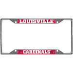 NCAA License Plate Frame University of Louisville