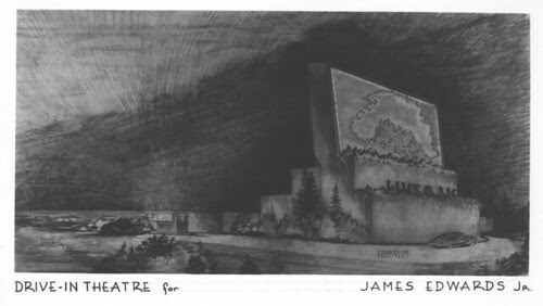 Drive-in theatre, Arcadia design concept