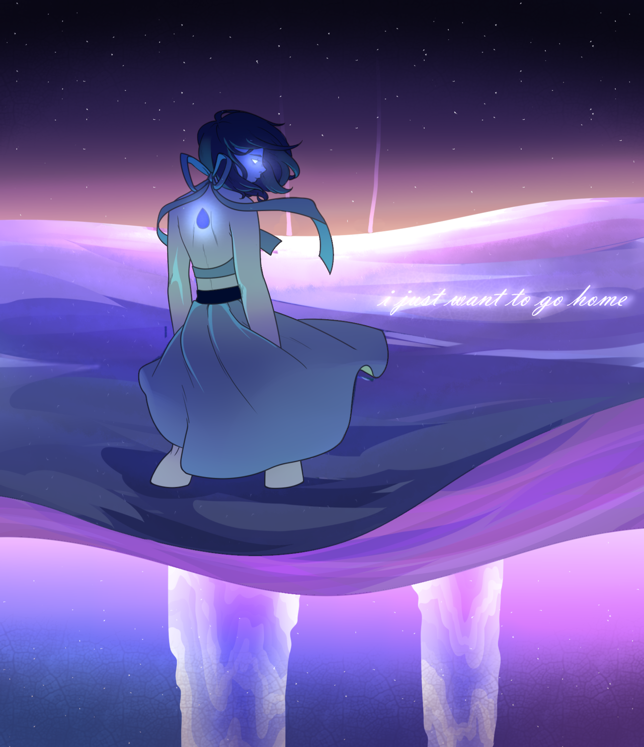 hey its your sad girl lapis lazuli were back at it with this water-witchery