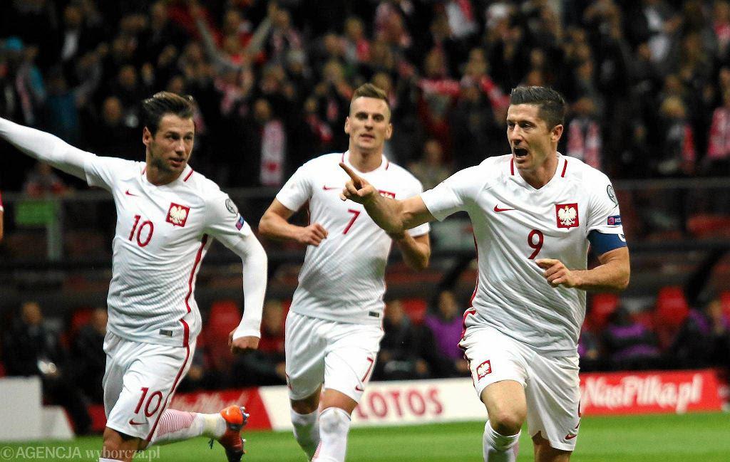 El Mś 2018 Polska Dania 32 Gol Lewandowskiego Prawie Identyczny