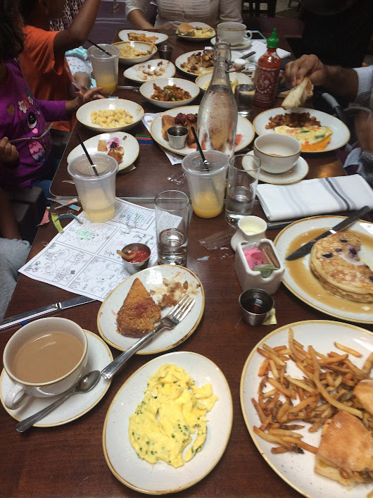 The Majestic Restaurant: Family Friendly Brunch Spot