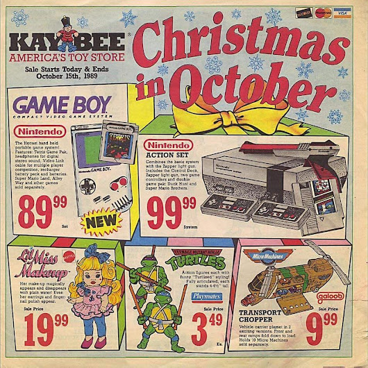 Christmas 28 years ago was lit.