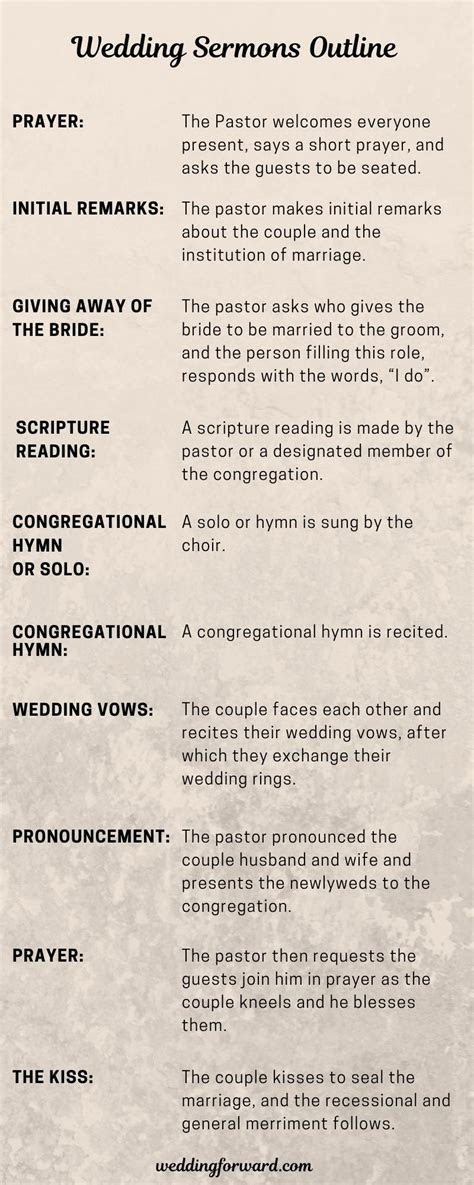 9 Wedding Sermons (2019 Outline & Free Download)   Wedding