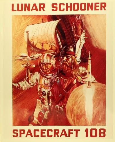 Lunar Schooner Spacecraft 108 by San Diego Air & Space Museum Archives