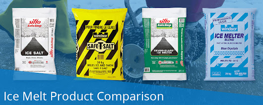 Ice Melt Product Comparison | Pestell Minerals & Ingredients