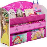 Disney Princess Deluxe Book and Toy Organizer - Delta Children