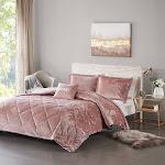 Intelligent Design Felicia Velvet Comforter Set - ID10-1658 Full/Queen