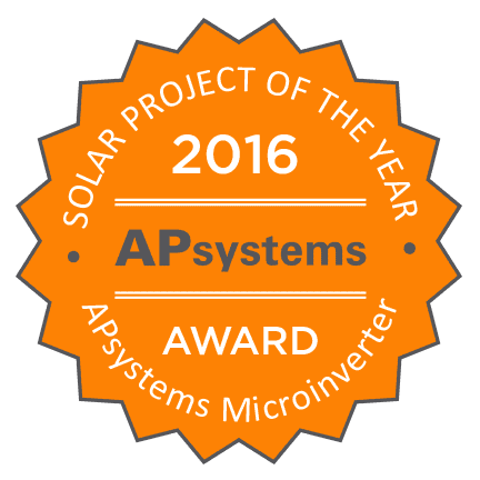 Lighthouse & Bombard earn prestigious APsystems Project of the Year awards – APsystems USA |  Leading the Industry in Solar Microinverter Technology