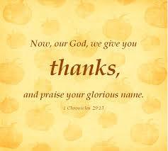 Free Thanksgiving Scripture