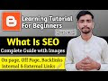 SEO tutorial for beginners | SEO for New blogger 2021 | on-page SEO | off-page SEO[Urdu/Hondi]