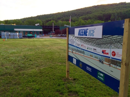 Congrats to Keene Ice On The Start Of Their Construction!