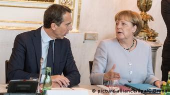 Angela Merkel e Christian Kern