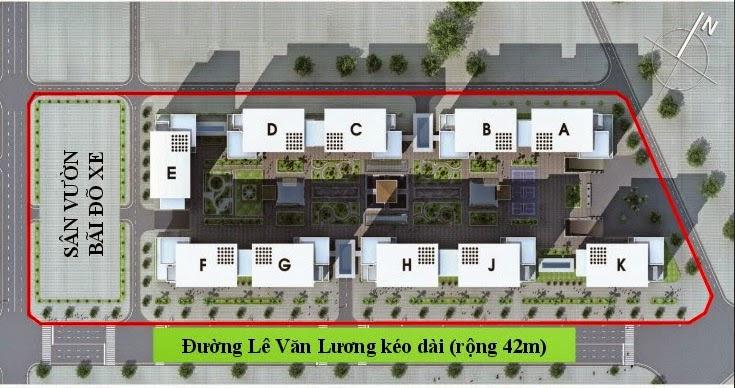 Phối cảnh tổng thể CT7 Dương Nội