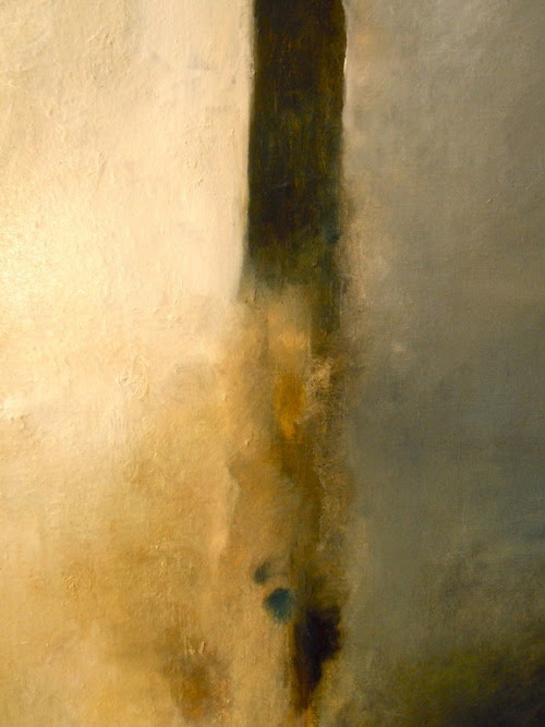 mondonoir:  Amy Masters, Against the edge, 2011, Oil on linen