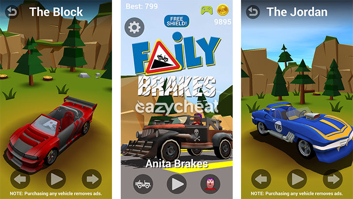 Faily Brakes v1.18 Cheats